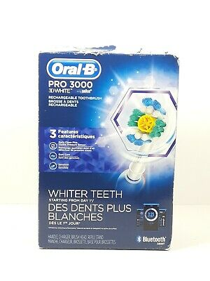 AU69.46 • Buy Oral-B Pro 3000 3D Action Rechargeable Toothbrush Box Has Damage Sealed