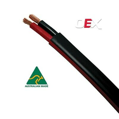 AU115 • Buy Automotive Twin Sheath Cable, Black / Red 2mm, 3mm, 4mm, 5mm, 6mm