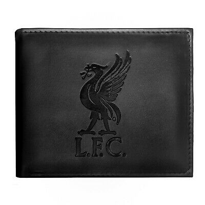 £9.99 • Buy Liverpool FC Mens Wallet Leather Embossed Crest OFFICIAL Football Gift