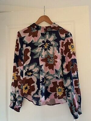 AU70 • Buy GORMAN Floral Silk Top - Size 12