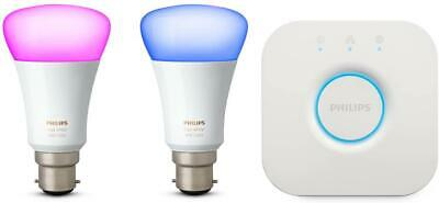 AU117.20 • Buy Philips Hue Ambiance Mini Starter Kit B22 - White And Colour - 10 W