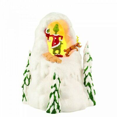 £39.99 • Buy How The Grinch Stole Christmas Mount Crumpit Light Up Who-Ville Village Figurine