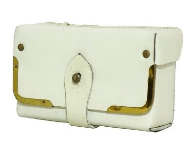 £11.99 • Buy Italian Military Surplus White Leather Ceremonial Large Ammo Pouch
