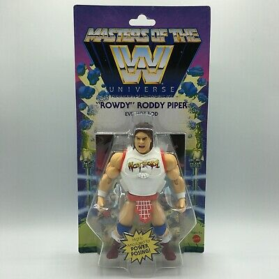 $32.95 • Buy Masters Of The WWE Universe MOTU Rowdy Roddy Piper Wave 5 New Sealed Figure