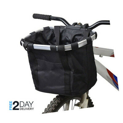 £24.26 • Buy Sturdy Front Pet Dog Cat Bicycle Basket Carrier For Bike Shopping Travel Case