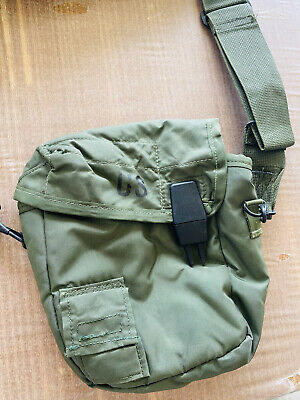 $ CDN6.25 • Buy US Military 2 QT Collapsible Water Canteen Cover Pouch Desert Tan VGC