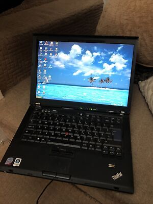 Lenovo Thinkpad T60 - IBM Windows XP • 45£