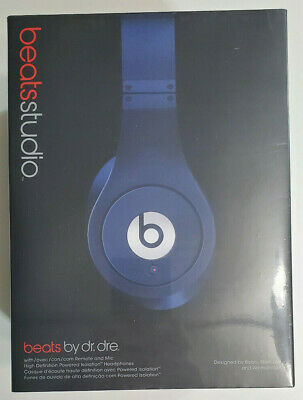 Beats By Dr. Dre Studio 🎧 Wired Over-Ear Headphones W/ Talk Control NEW IN BOX • 92.98£