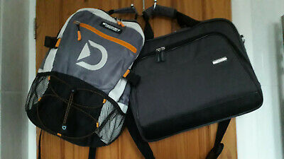 Asus 16  Laptop Grey Canvas Bag Case+discovery Adventures Backpack • 23£
