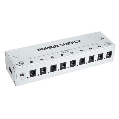 $ CDN45.60 • Buy 9 Output Way Effect Pedal Power Supply 2 USB Port Guitar Pedal Power Supply