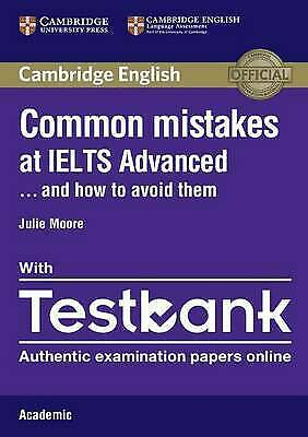 £4 • Buy Common Mistakes At IELTS Advanced Paperback With IELTS Academic Testbank: And...