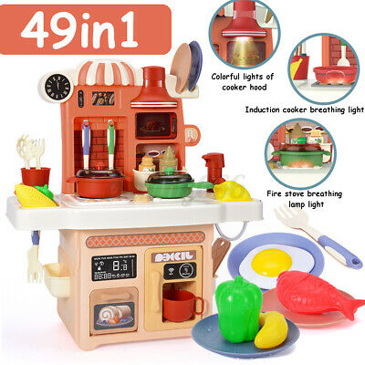 £12.99 • Buy Kitchen Toy Set Role Play Pretend Baker Kids Cooking Playset Game Girl Boy  ^
