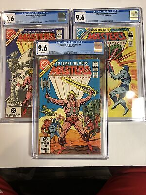 $677.10 • Buy Masters Of The Universe (1982)(DC) # 1 2 3 1-3 ( CCG 9.6 WP) Complete Set