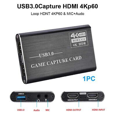 USB 3.0 Game Mini Portable Multifunction Computer PC Full HD Video Record Card • 28.18£