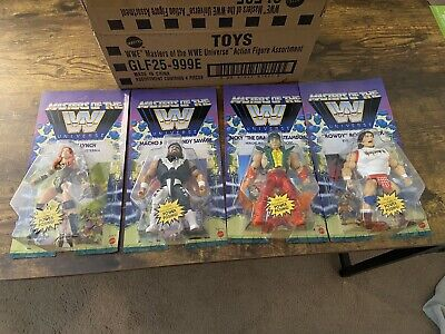$86 • Buy 🔥WWE Wave 5 Masters Of The Universe Action Figures Complete Lot Of 4 And Box