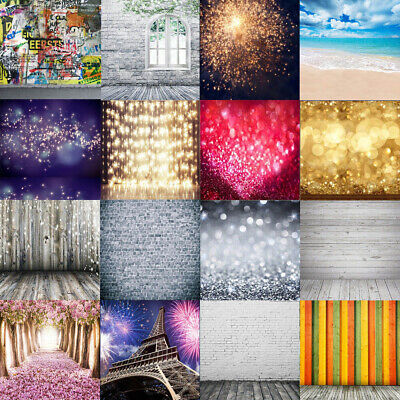 $11.49 • Buy Vinyl Photo Backdrop Brick Wood Photography Background Home Outdoor Studio Props