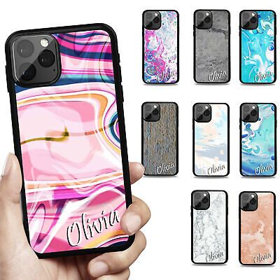 AU1.99 • Buy Personalised Name Phone Case Cover For IPhone 12 11 8 7 6s SE Plus Xs Pro Max XR