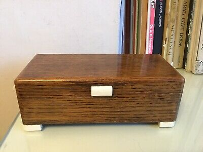 Old Small Wooden Box, Divided Jewellery ? • 8£