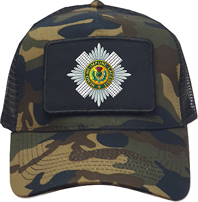 £19.97 • Buy  Armed Forces Royal Scots Guards Image Premium Quality Trucker Baseball Cap.