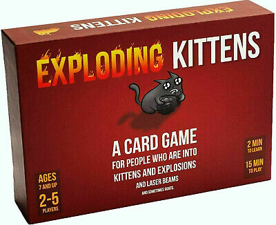 AU37.50 • Buy Exploding Kittens Original Party Card Game BRND NEW