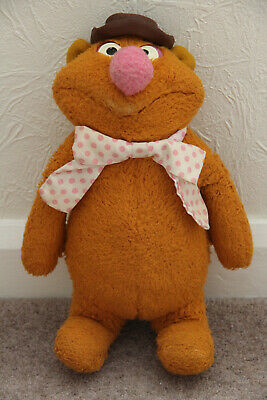 £10 • Buy FOZZIE BEAR Vintage 1976 Fisher Price Soft Toy [Jim Henson's The Muppets]
