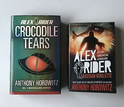Alex Rider Crocodile Tears And Russian Roulette, Book 8&10, By Anthony Horowitz  • 8£