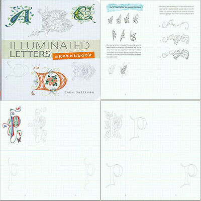 Illuminated Letters Sketchbook (Interactive Journal, Notebook) Hardcover – 1...  • 15.04£