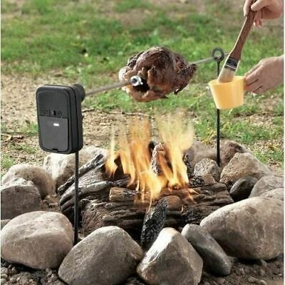 £54.95 • Buy Grizzly Spit Camp Fire Or Pit BBQ Rotisserie