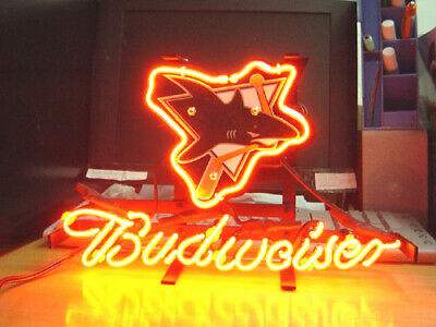 $ CDN99.73 • Buy SAN JOSE SHARKS Hockey Budweiser Beer Bar Club Pub Store Garage Neon Light Sign