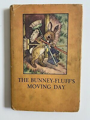 The Bunney-Fluffs Moving Day 1950 Ladybird Book With Dust Cover Series 401 • 5£