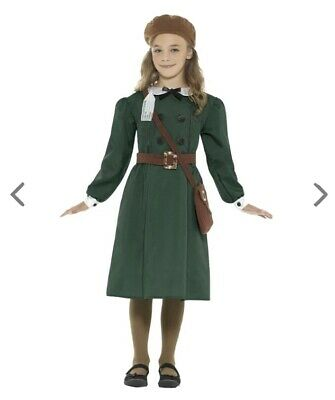 WW2 Evacuee Girl Costume Size 7-8 • 10£
