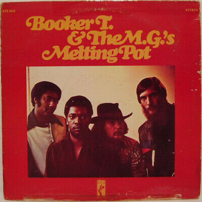 ID5859a-Booker T  The MG's-Melting Pot-STS 2035-vinyl LP-us-m9s8 • 39.83£