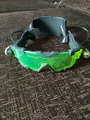 Spy Gear Night Vision Goggles Glasses 2002 Wild Planet Toys Green • 7£
