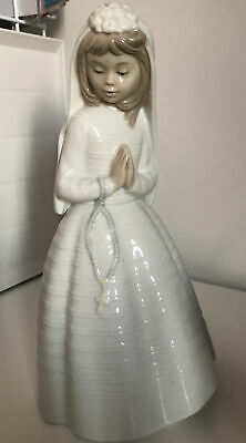 Lladro Nao Holy Communion Young Girl • 7.50£