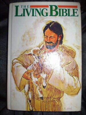 The Living Bible: Young Reader's LARGE PRINT EDITION, Color Illustrated • 2.12£