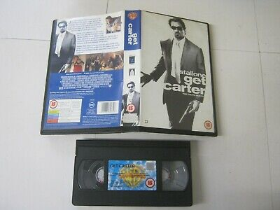 Vhs Tape Cert 15 GET CARTER Large Box 476 • 2.50£