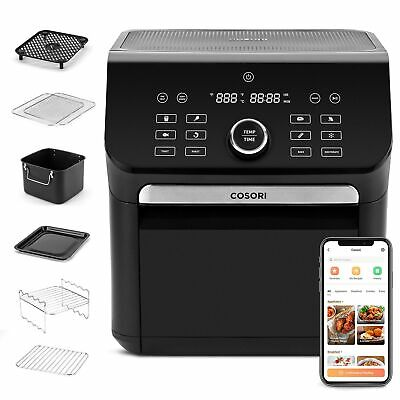 $ CDN177.61 • Buy COSORI 14-in-1 Smart Large Air Fryer Oven XL 7QT With 6 Accessories, Wi-Fi App