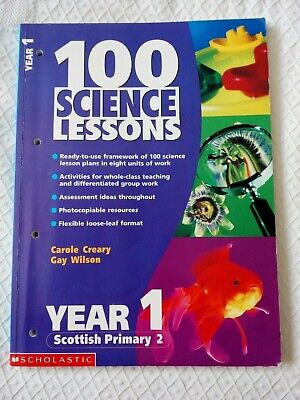100 Science Lessons - Education Planning & Resources Teacher Book. Year 1.  • 1.99£