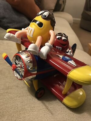 M&M's Barnstorming Bi-Plane Sweet / Candy Dispenser M&M Novelty Collectable • 6.99£