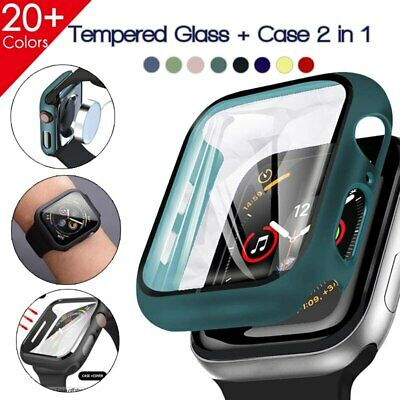 AU6.39 • Buy For Apple Watch Series 3/4/5/6/SE Full Protective Cover Case / Screen Protector
