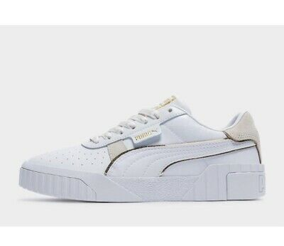 AU79.99 • Buy Puma Cali Shoes Sneakers RRP $140 Womens Trainers US Size 7 White Leather New