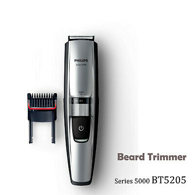 AU87.95 • Buy PHILIPS Beard Trimmer Series 5000 Waterproof Cordless Stubble Trimmer BT5200