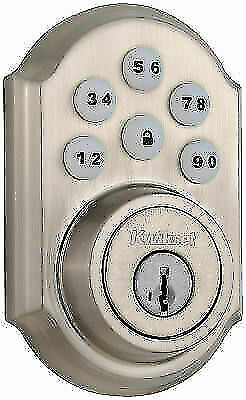 $ CDN56.97 • Buy Kwikset 99090-018 SmartCode Electronic Deadbolt - Satin Nickel