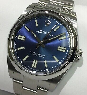 $ CDN11284.96 • Buy Rolex Oyster Perpetual 124300 Blue Dial Box And Papers Unworn
