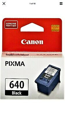 AU27 • Buy Genuine Canon PG-640 PG640 Black Ink Cartridge For MG3660 MG3560 MX396 TS5160