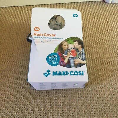 Maxi-Cosi Car Seat Rain Cover - Fits Cabriofix, Citi, Pebble & Pebble Plus • 2.50£