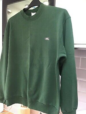 LandRover Sweatshirt Green With Logo Is Used And Old Hence The Start Low Price • 0.99£