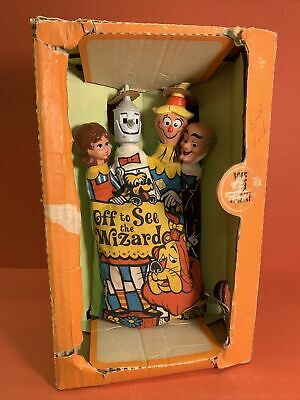 £150 • Buy 1967 Mattel WIZARD OF OZ - Off To See The Wizard Talking Hand Puppet + Orig Box