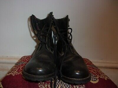 Womens PAVERS Utratex Brown Leather Ankle Boot Uk 9 (eu 42) Good Condition • 3.50£