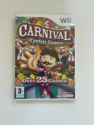 Carnival Funfair Games - Nintendo Wii - BOXED - FREE DELIVERY! • 6.99£